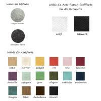Mauspad Filz Kork Merino Wollfilz Unterseite Anti-Rutsch Stoff Unterlage Mausunterlage Schreibtisch Mouse Pad Bild 3