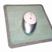 Mauspad Filz Kork Merino Wollfilz Unterseite Anti-Rutsch Stoff Unterlage Mausunterlage Schreibtisch Mouse Pad Bild 5