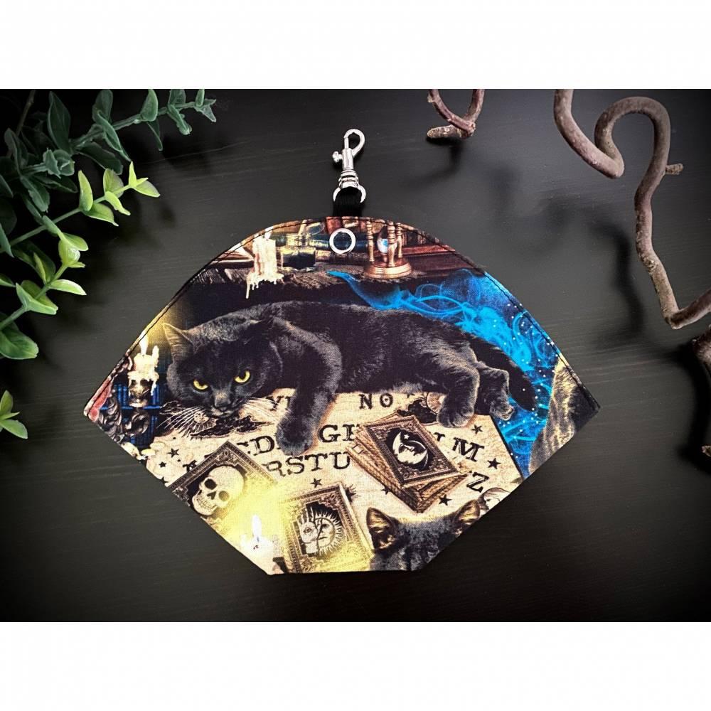 Maskentasche FFP2, Mystic Cats, Maskenbeutel Bild 1