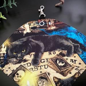 Maskentasche FFP2, Mystic Cats, Maskenbeutel Bild 2