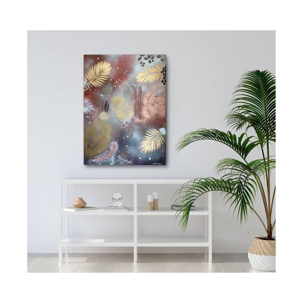 """""""CRAZY WILD BERRIES"""" 60 x 80 cm Acrylbild  Bild 1"""