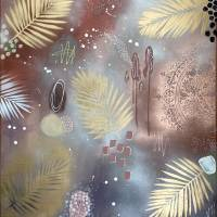 """""""CRAZY WILD BERRIES"""" 60 x 80 cm Acrylbild  Bild 2"""
