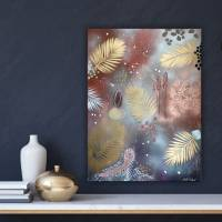 """""""CRAZY WILD BERRIES"""" 60 x 80 cm Acrylbild  Bild 6"""