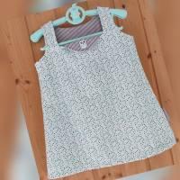 Mädchenkleid Gr.92 Sommerkleid Schürzenkleid Kinderkleid Hängerchen Schwedenstil Gr.92  Tunika Sommer Baumwollkleid  Bild 1