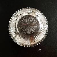 Vintage Aschenbecher aus Kristallglas 1960er Bild 3