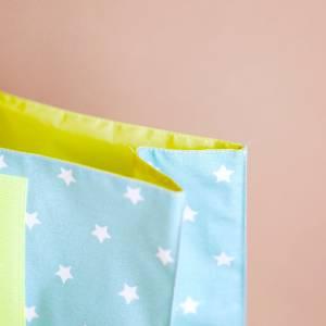 Lunchbag groß, Badetasche, türkis mit Sternchen, wasserabweisend Bild 4