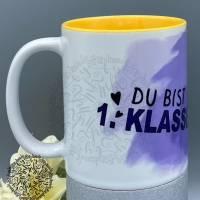 """Tasse/Keramiktasse/""""Einschulung Schildkröte"""" Design von Lulu & Fonsi/Einschulung/Klasse/1.Schultag/Schildkröte Bild 2"""
