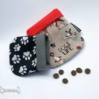 'TaschenTasche' - die Rettung für Jacken- und Hosentaschen der Hundehalter *Hundemotiv* *Pfötchen* Bild 1