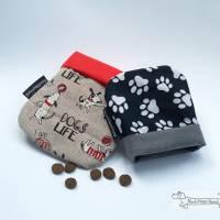 'TaschenTasche' - die Rettung für Jacken- und Hosentaschen der Hundehalter *Hundemotiv* *Pfötchen* Bild 2