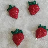 Maschenmarkierer, Maschenzähler Erdbeere Bild 1