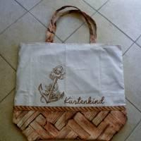"""Shopper Bag XXL /  Stofftasche / Strandtasche / der ideale Alltagsbegleiter im maritimen Style - """" Küstenkind"""" Bild 6"""