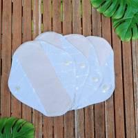Set waschbare Bambus Sommer Stoffbinden / Slipeinlagen - für Menstruation / Periode / Blasenschwäche / Inkontinenz Bild 2