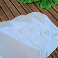 Set waschbare Bambus Sommer Stoffbinden / Slipeinlagen - für Menstruation / Periode / Blasenschwäche / Inkontinenz Bild 4