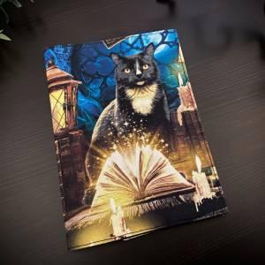 Impfpasshülle Mystic Cats für Erwachsene, Umschlag, Impfausweis Hülle, schlicht Bild 3