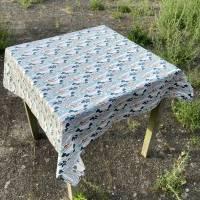 BIO Tischtuch Größe 110 x 110 cm       GOTS zertifizierte Biobaumwolle Bild 2