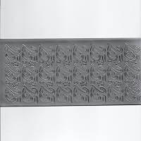 Sticker Aufkleber Zahl 25 silber zur Silberhochzeit 25.Geburtstag - Dienstjubiläum Bild 1