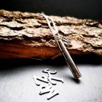 Personalisierte Kette mit Wunschbuchstaben, Halskette, Edelstahl, Edelstahlkette, Memorys Bild 3