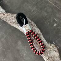 Schlüsselanhänger aus Segelseil mit silberfarbenem Schlüsselring Bild 7
