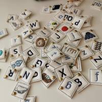 ABC Alphabet Buchstaben Memory ITH Stickdatei 10x10 Bild 4