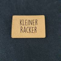 """Kunstlederlabel """"Kleiner Racker"""" Bild 1"""