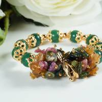 Mulcticolor Damen Armband aus Turmalin Bild 1