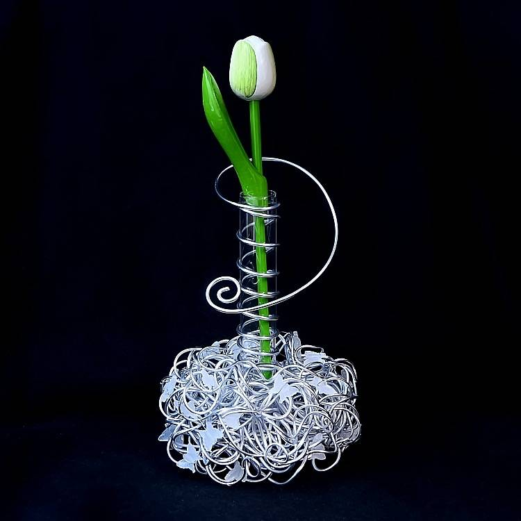 Vase Farfalla Blumenvase Deko Dekoartion Bild 1