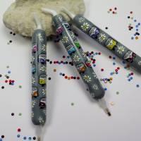 "Diamond painting pen "" bunte Busse"" kurz Bild 1"