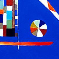 Sichtweisen - Original Ölmalerei + Malerei mit heißem Wachs (Encaustic) Bild 3