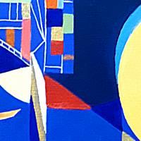 Sichtweisen - Original Ölmalerei + Malerei mit heißem Wachs (Encaustic) Bild 5