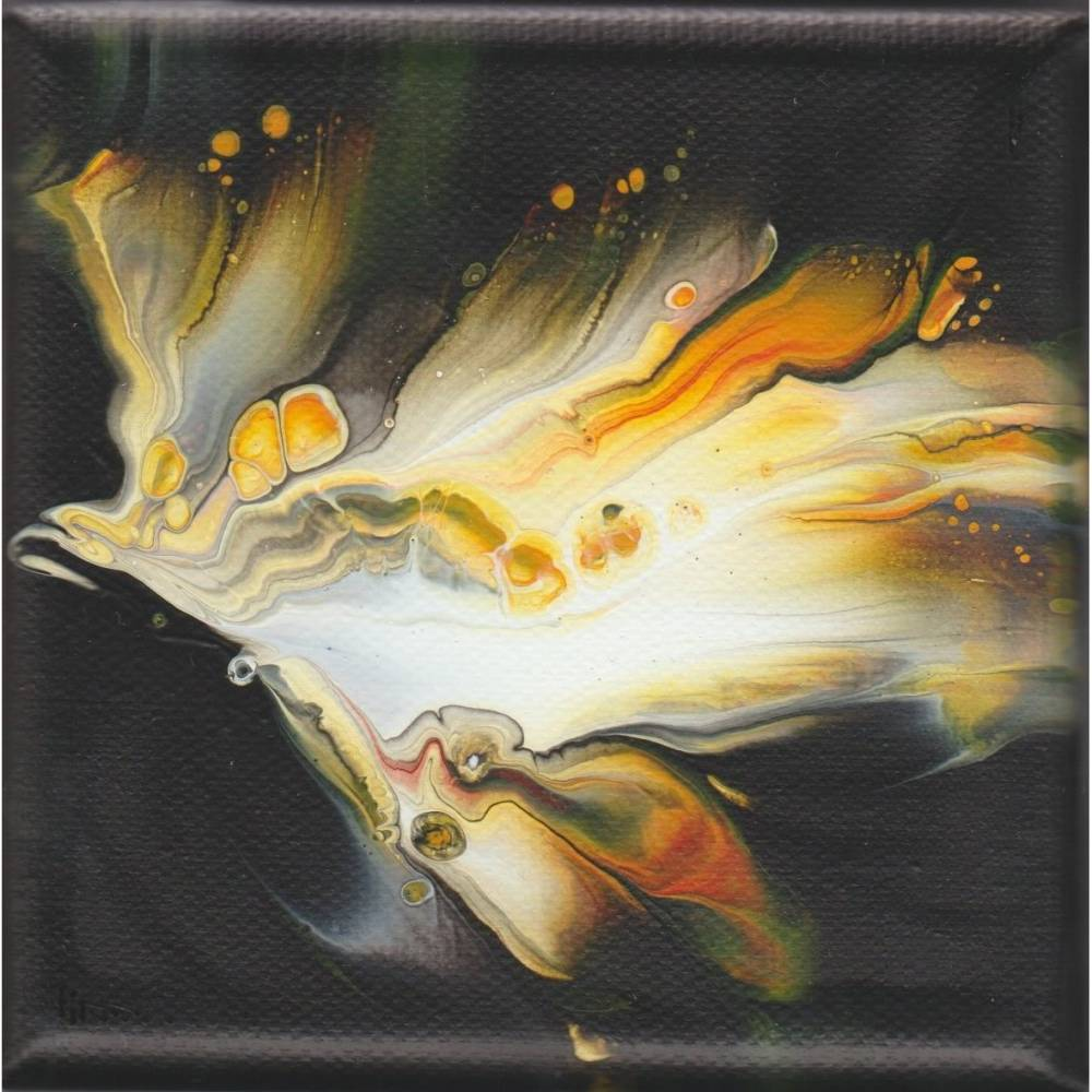Wandbildchen-   Energiebild-    Dip- Technik Bild 1