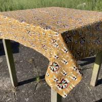 BIO Tischtuch Größe 110 x 110 cm   |   GOTS zertifizierte Biobaumwolle Bild 2