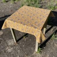 BIO Tischtuch Größe 110 x 110 cm   |   GOTS zertifizierte Biobaumwolle Bild 3