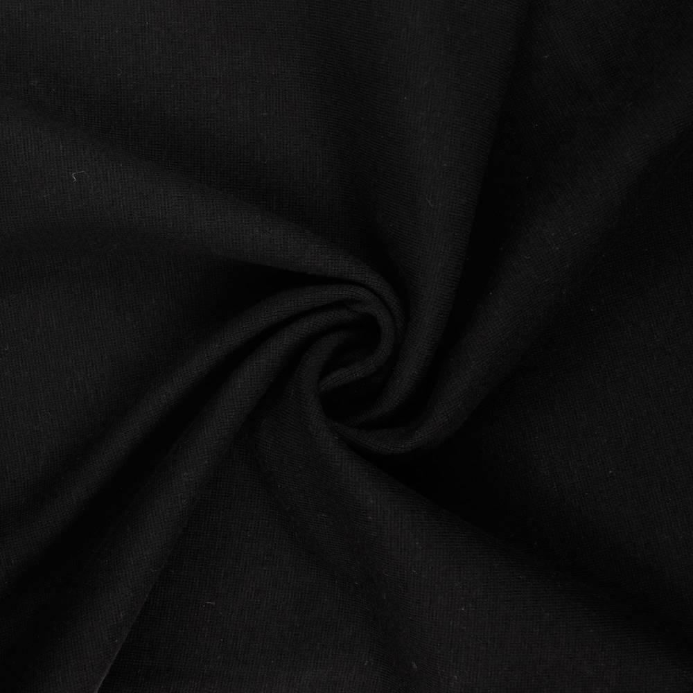 Bündchen Schlauchware  glatt schwarz Oeko-Tex Standard 100(1m/8,-€) Bild 1