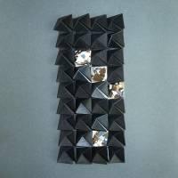 Light and shadow II // Origami-Wandbild im Objektrahmen Bild 4