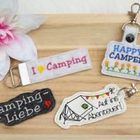 Stickdatei Camper Camping Anhänger Schlüsselanhänger ITH Wohnmobile Bild 3