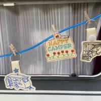 Stickdatei Camper Camping Anhänger Schlüsselanhänger ITH Wohnmobile Bild 7