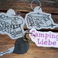 Stickdatei Camper Camping Anhänger Schlüsselanhänger ITH Wohnmobile Bild 9