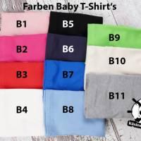 Kinder T-Shirt personalisiert mit Namen und Nummer Babybody Bild 10