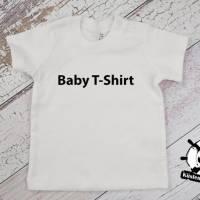 Kinder T-Shirt personalisiert mit Namen und Nummer Babybody Bild 9