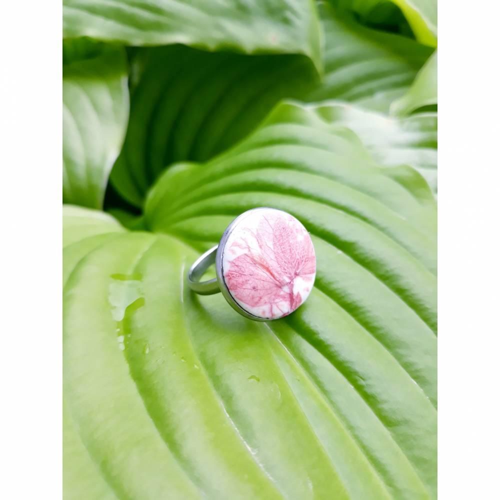 "Ring ""Hortensienflora"" Bild 1"