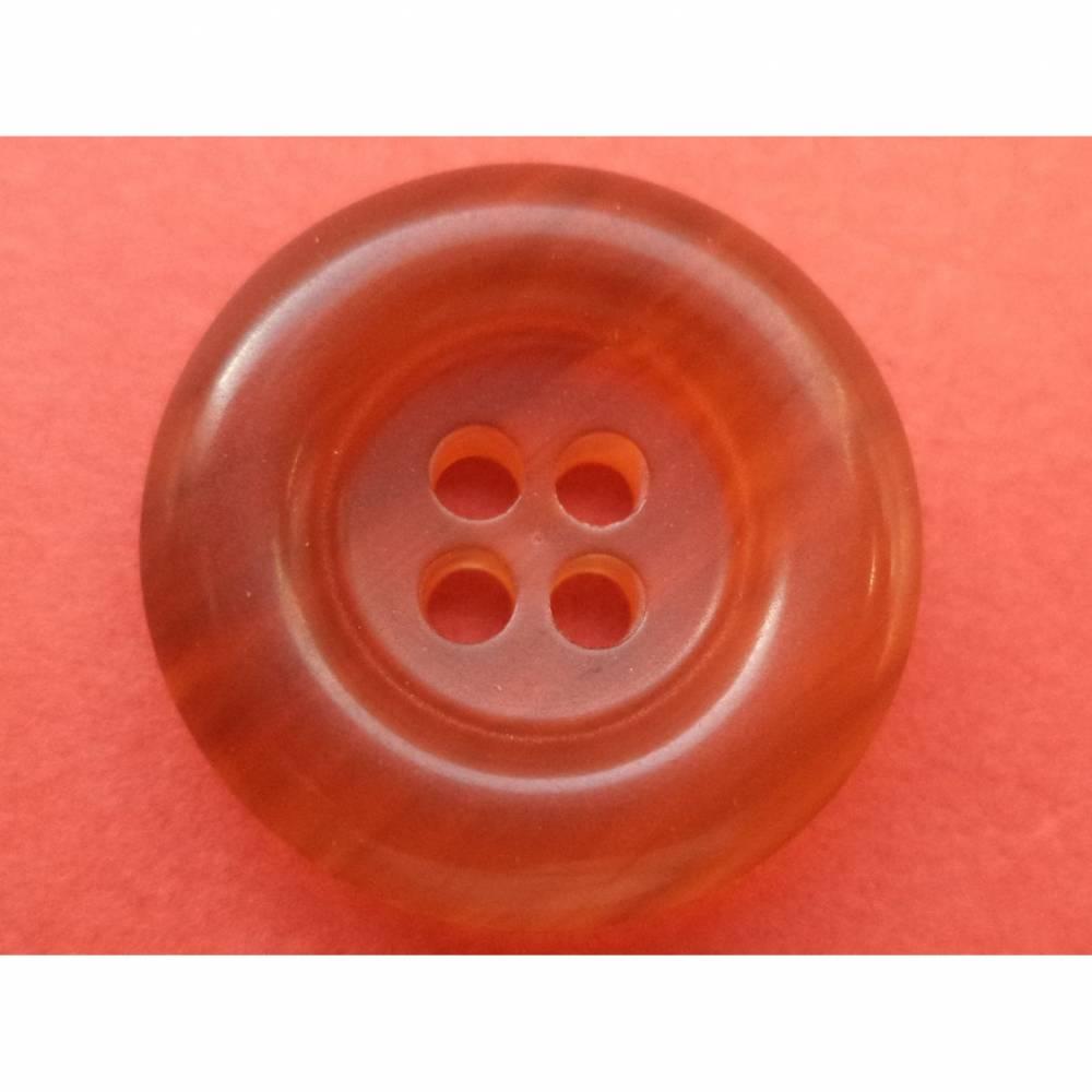 Knöpfe 18mm rot braun (2413) Bild 1