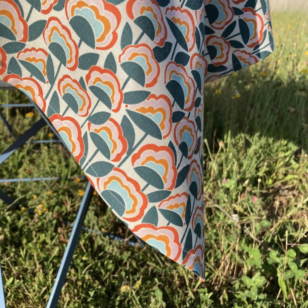Tischtuch PRIL Größe 110 x 110 cm   |   GOTS zertifizierte Biobaumwolle Bild 1