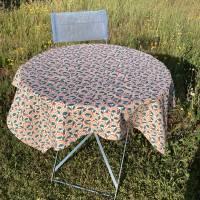 Tischtuch PRIL Größe 110 x 110 cm   |   GOTS zertifizierte Biobaumwolle Bild 2