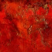 Unendliches Universum - Original Encausticmalerei auf Leinwand Bild 5