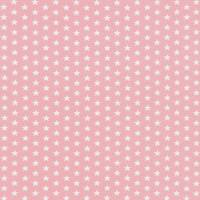 Jersey Baumwolle Sterne rosa  Bild 1