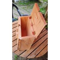 Briefkasten aus Holz Lärche handgemacht massiv rustikal Bild 8