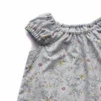 KLEID Mädchen Frühling Sommer Blumen Geschenk Geburtstag Geburt Baby Einschulung Gr. 86 - 140 Bild 6