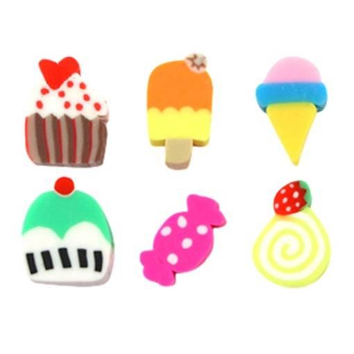 Fimo Perlen Süßigkeiten Bild 1