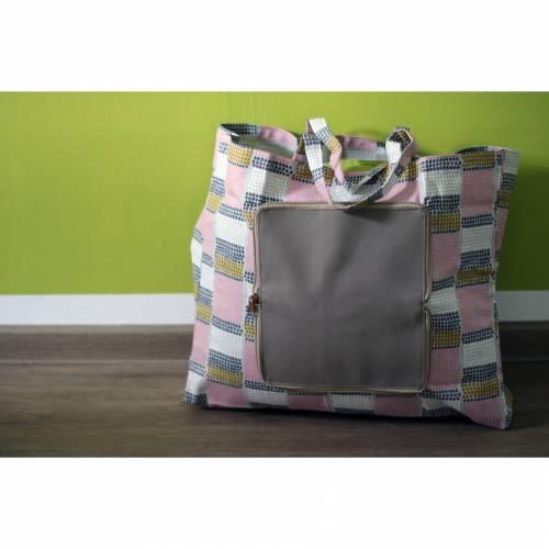 SCHNITTMUSTER Shoppingtasche Hubert
