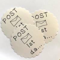 STICKERSHEET Versand / Post Aufkleber // Briefaufkleber / Briefmarke Bild 3